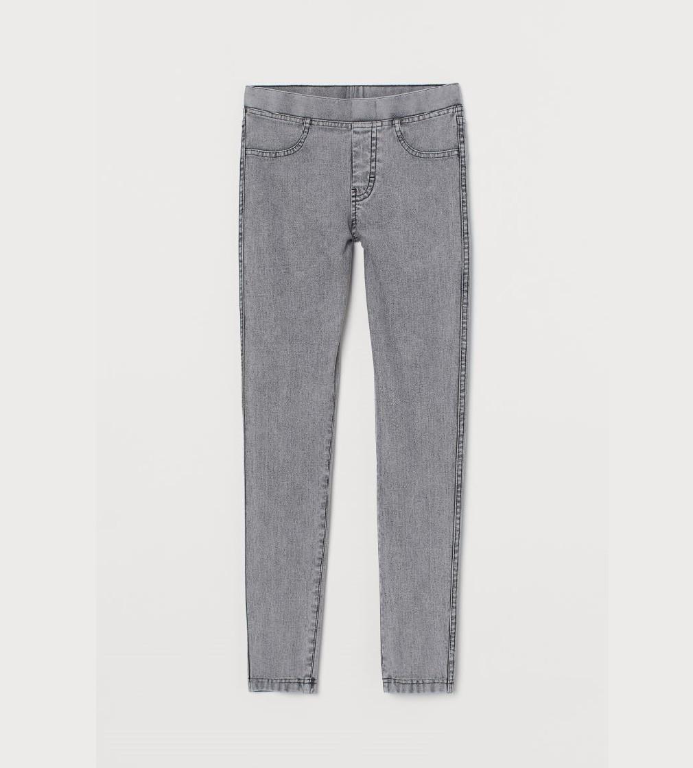 Купити Джинси H&M світло-сірі/ простягрненні - фото 1