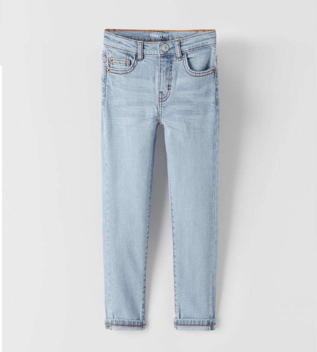 Купити Джинси Zara BLEACH WASH SKINNY: Light blue - фото 1