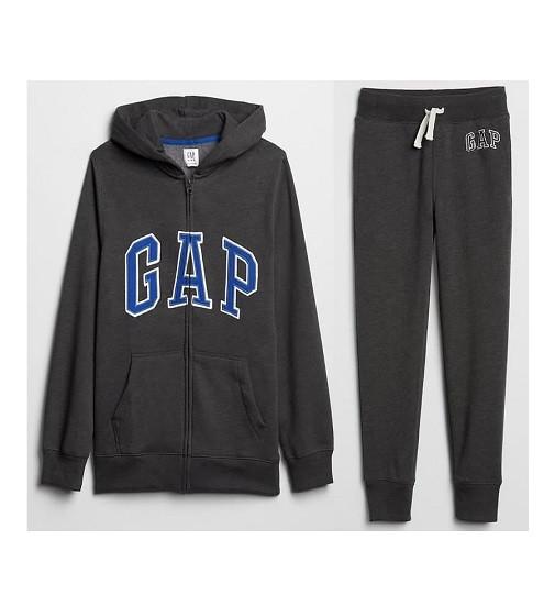Купити Костюм на флісі Gap Logo: charcoal gray - фото 1