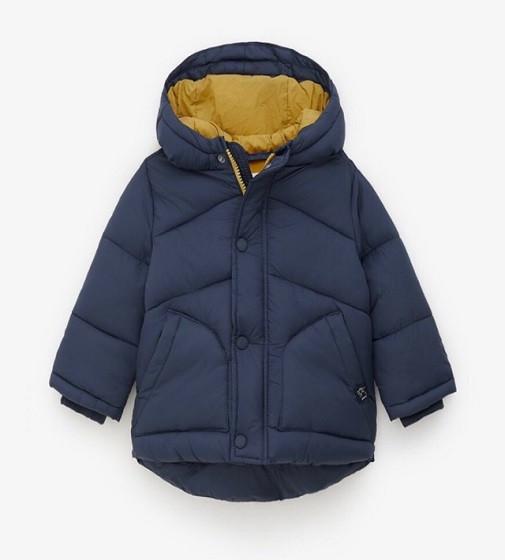 Купити Куртка LINED PUFFER JACKET ZARA: Navy blue - фото 1