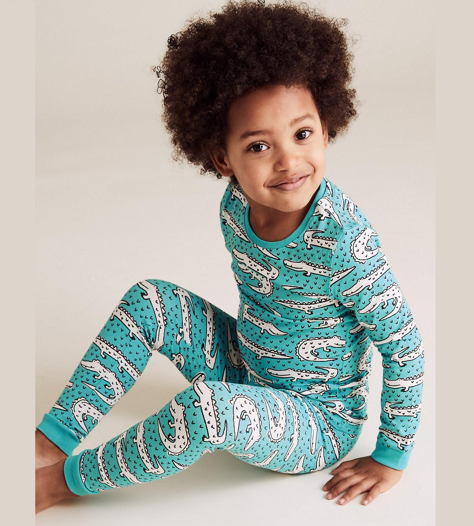 Купити Піжама M&S Crocodile Print Pyjama Set (T86/3717E) - фото 1