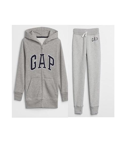Купити Костюм на флісі Gap Logo: light heather gray - фото 1