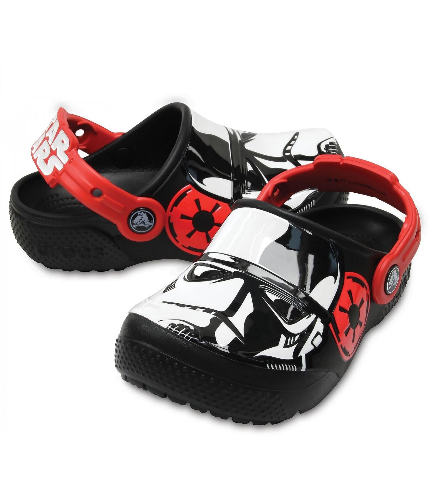 Купити Дитячі сабо Kids' Crocs Fun Lab Stormtrooper™ Clog  black - фото 1