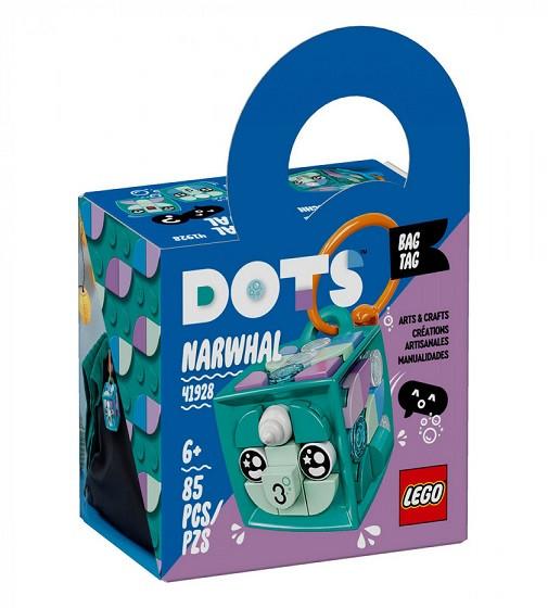 Купити LEGO® DOTS Брелок для сумочки «Нарвал» - фото 1