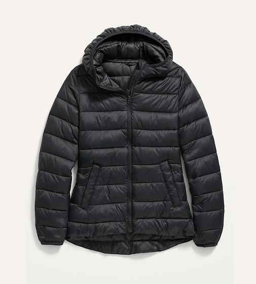 Купити Куртка Narrow-Channel Puffer: Black Jack - фото 1