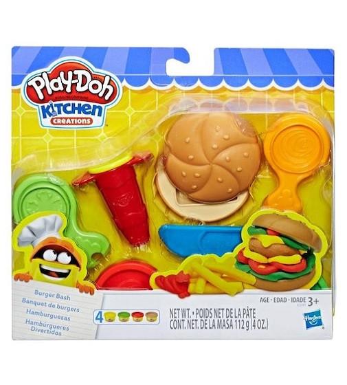 """Купити Ігровий набір """"Бургер"""" Kitchen Creations Play-Doh - фото 1"""
