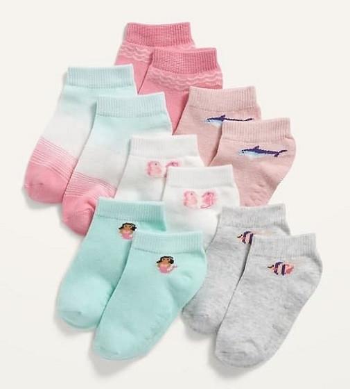 Купити Набір шкарпеток Socks 6-Pack Old Navy Mermaid Print - фото 1