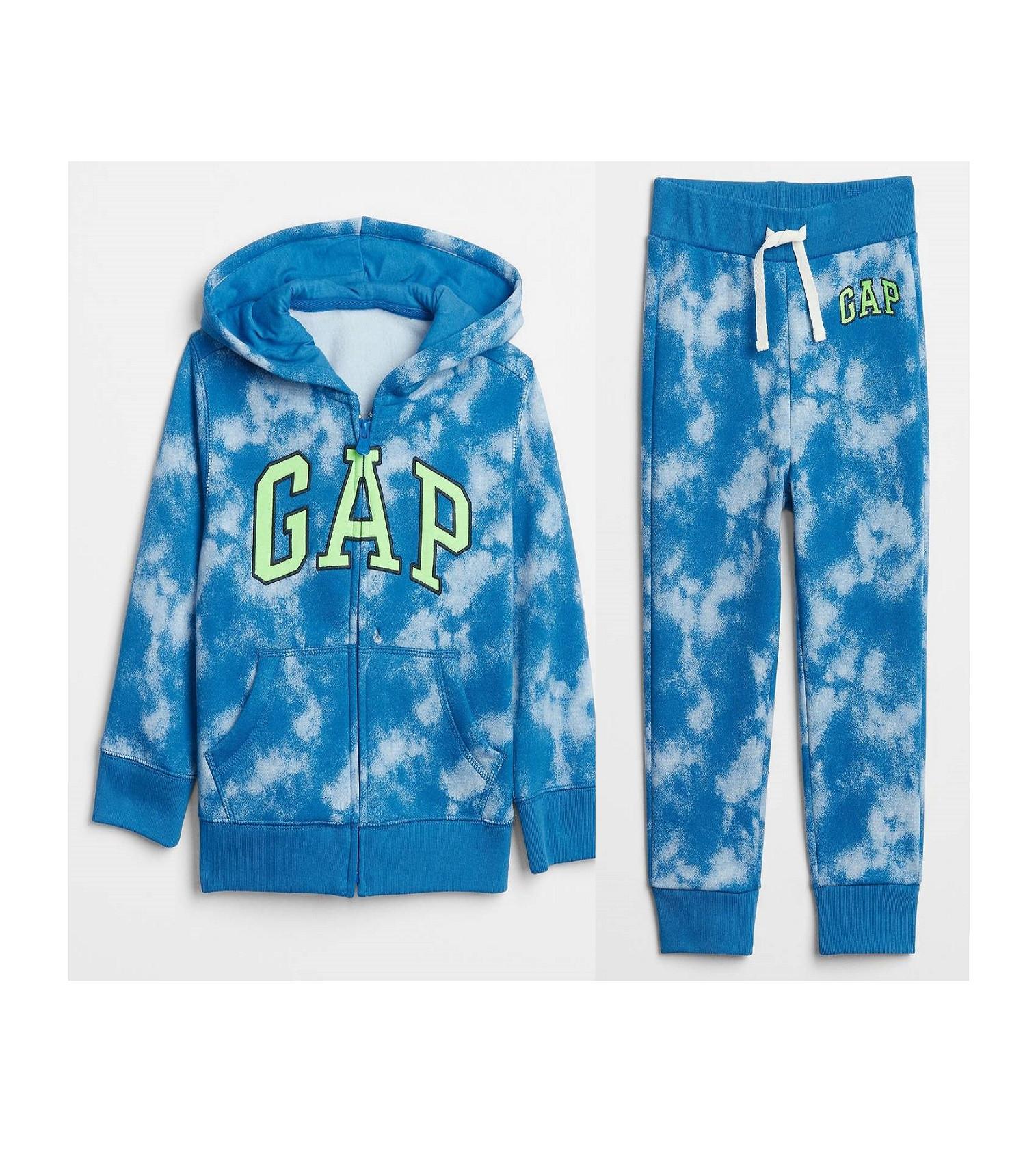 Купити Костюм на флісі Gap Logo: Blue Burst 544982 - фото 1