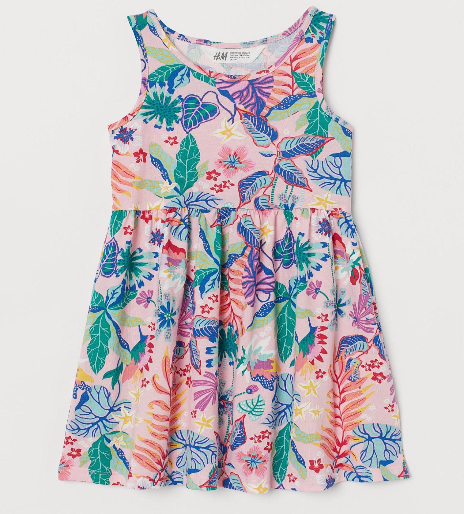 Купити Сарафан H&M Блідо-рожевий / Квіти - фото 1