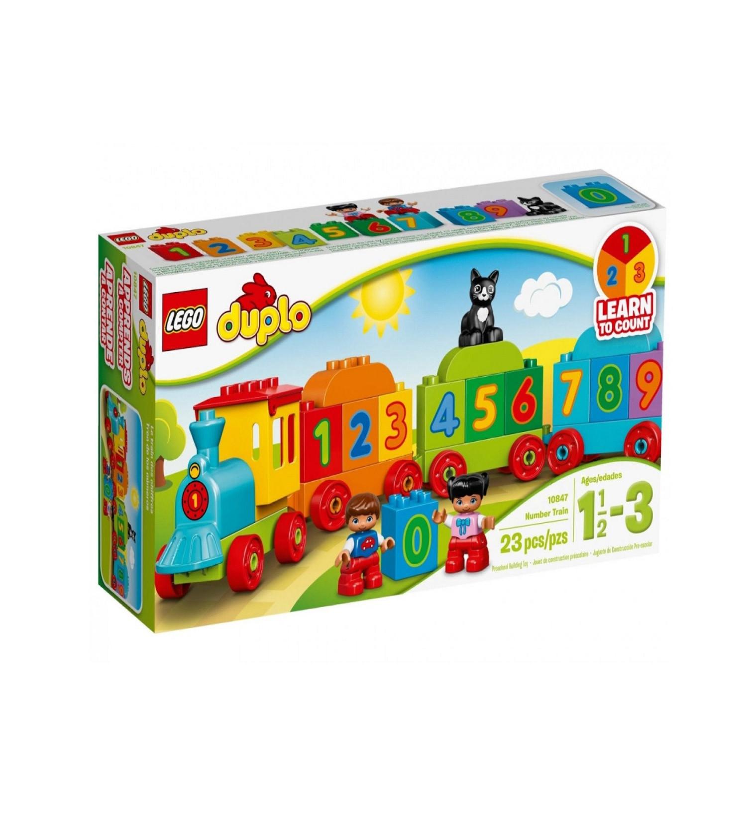 Купити Конструктор LEGO DUPLO Поїзд «Вважай і грай» - фото 1