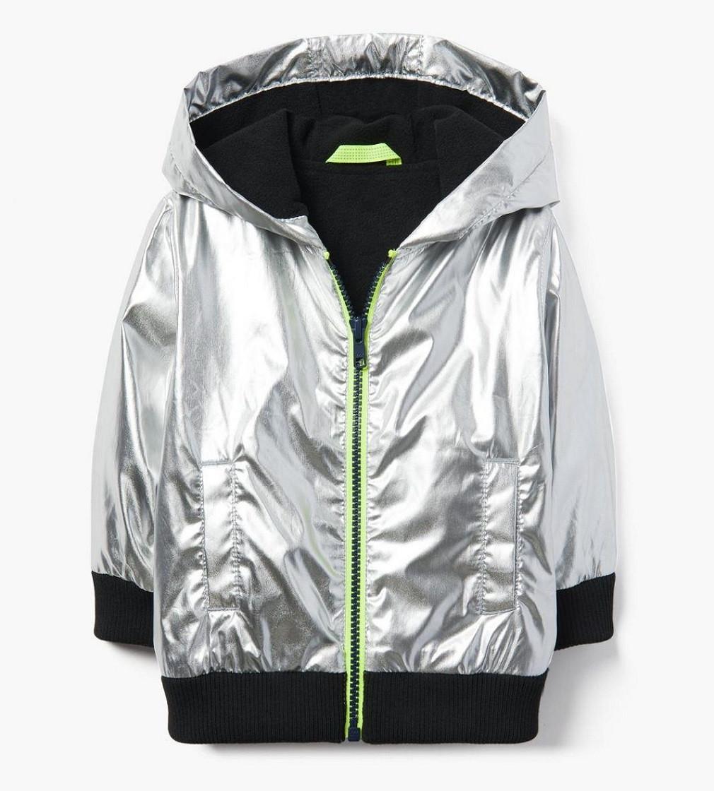 Купити Куртка на флісі Gymboree Metallic Windbreaker - фото 1