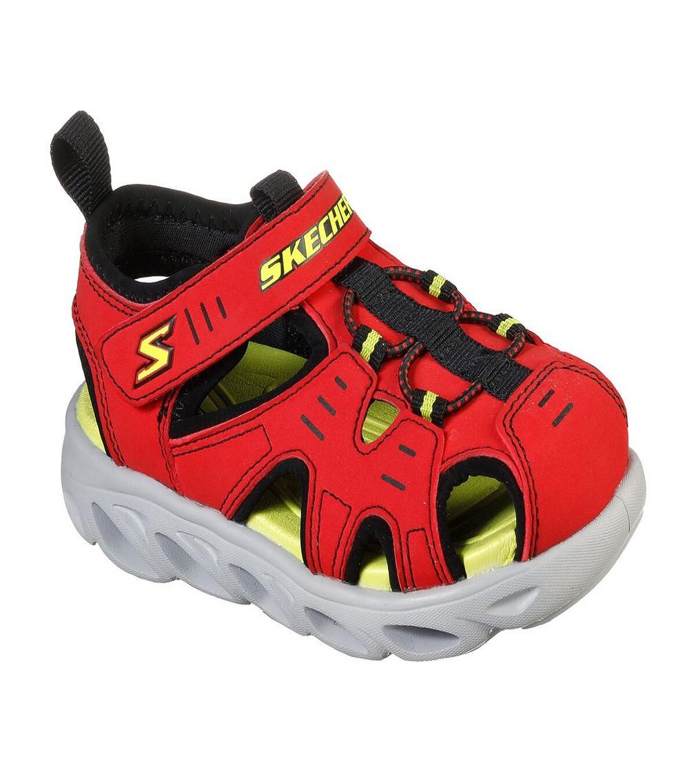 Купити Сандалії Skechers S Lights: Hypno-Splash - Splash N Play RED / BLACK - фото 1