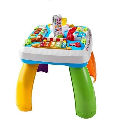 Купити Розумний ігровий столик з технологією Smart Stages Laugh & Learn Around The Town Learning Table Fisher-Price (05705) - фото 1