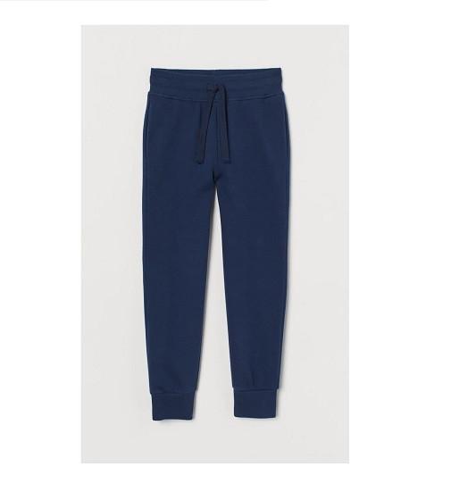 Купити Штани Тонкі Jersey joggers H&M (0738873016 dark blue) - фото 1