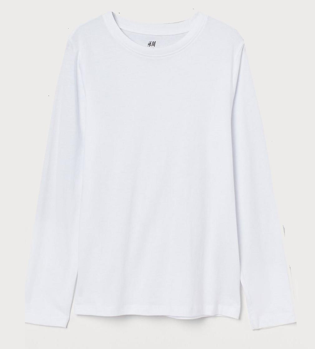 Купити Реглан H&M Білий однотонний - фото 1