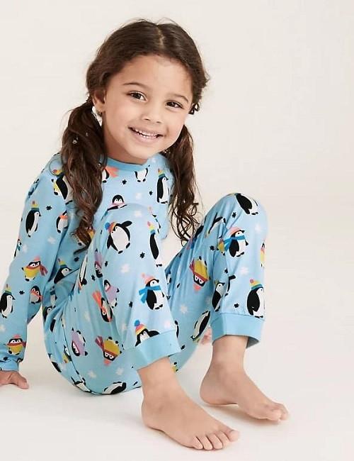 Купити Піжама новорічна Пингвинчики - фото 1