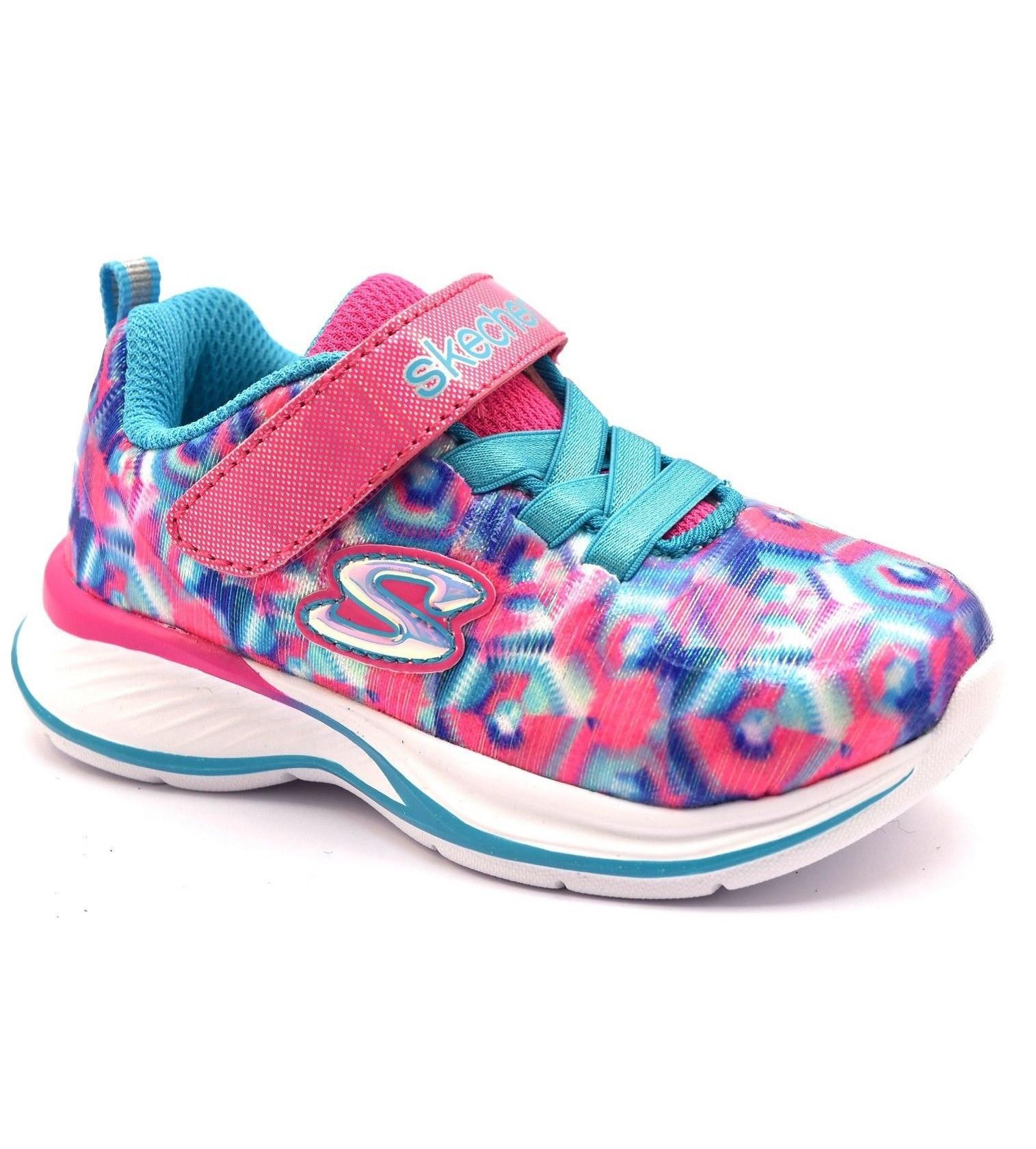 Купити Кросівки Skechers JUMPIN JAMS NEON PINK/MULTI - фото 1