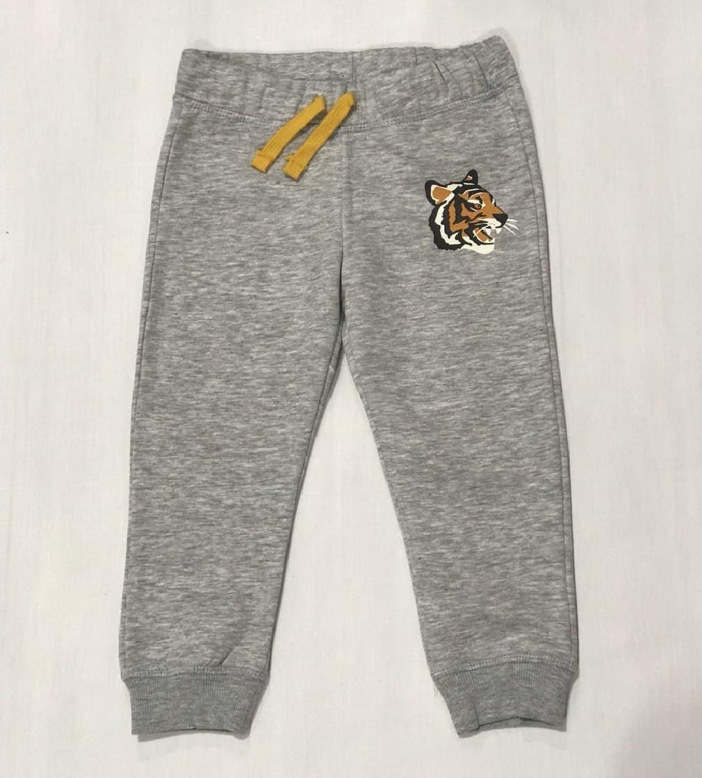 Купити Штани на флісі H&M joggers: Light grey marl/Tiger - фото 1
