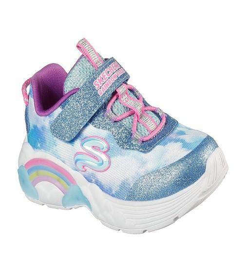 Купити Кросівки Skechers S LIGHTS Rainbow Racer Blue - фото 1