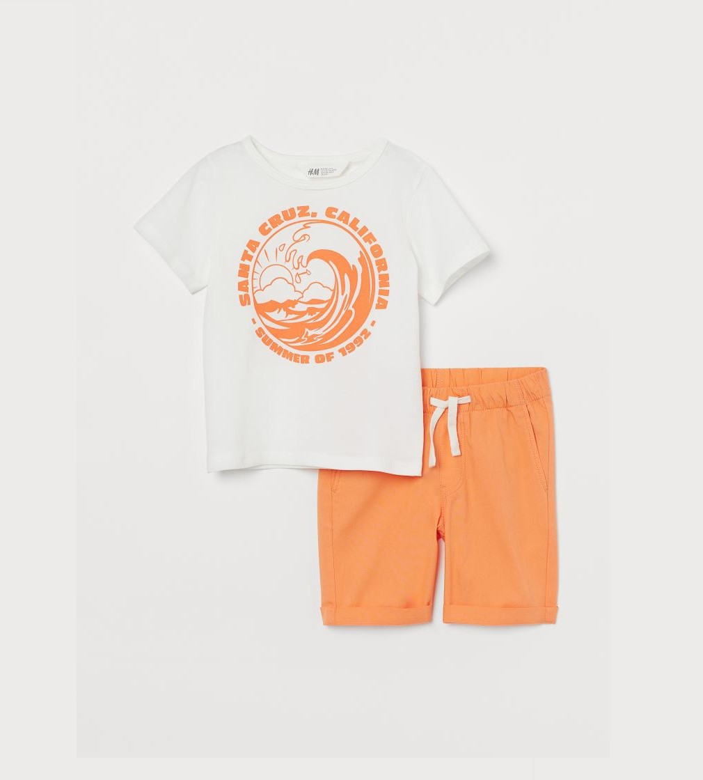 Купити Набір H&M Оранжевый/Santa Cruz - фото 1
