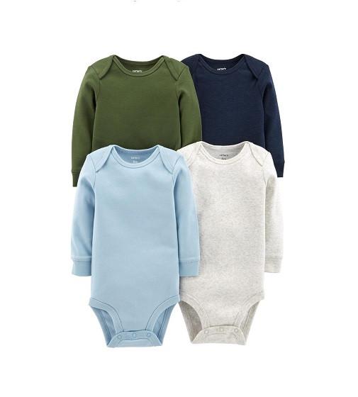 Купити Набір Бодик 4-Pack Long-Sleeve Original Bodysuits (126h580) - фото 1