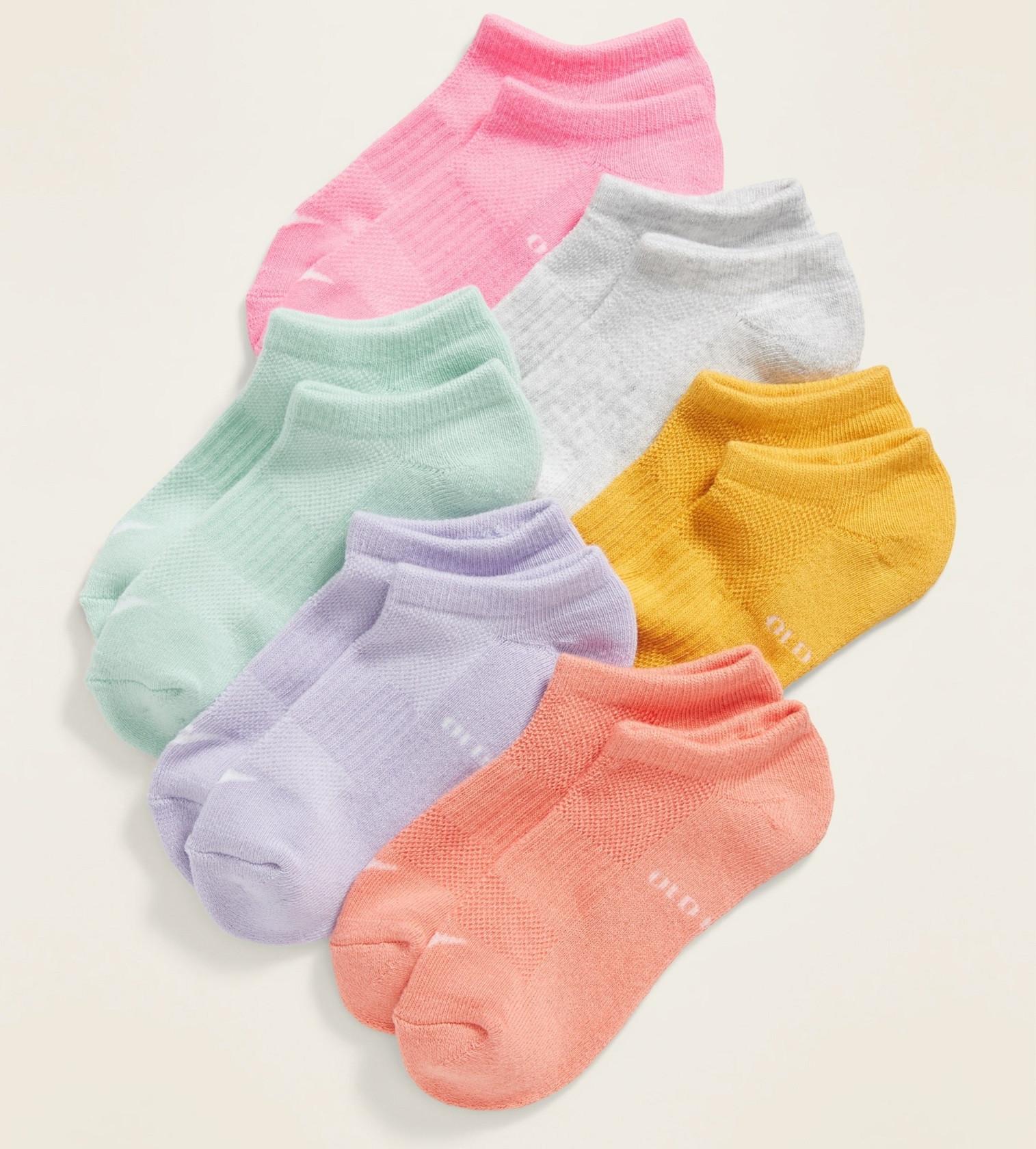 Купити Набір шкарпеток Socks 6-Pack Old Navy Solid Color - фото 1