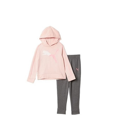 Купити Костюм на флісі Сіро рожевий - фото 1