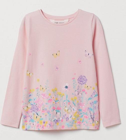 Купити Реглан H&M Неонові квіточки - фото 1