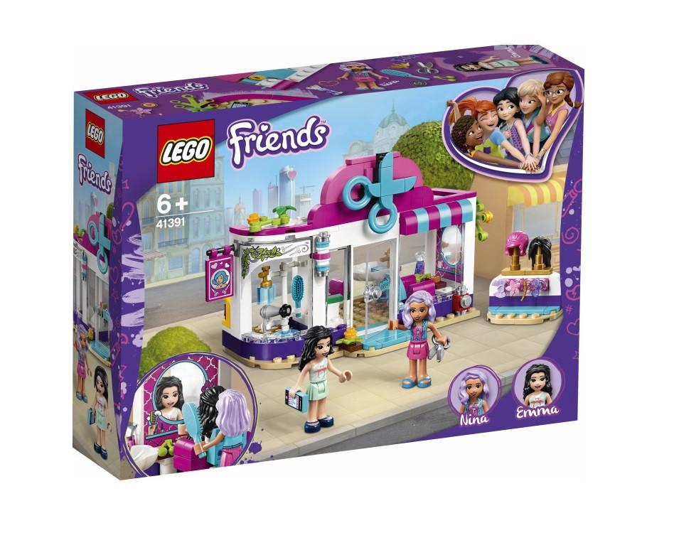 Купити LEGO® Friends Перукарня Хартлейк Сіті (41391) - фото 1