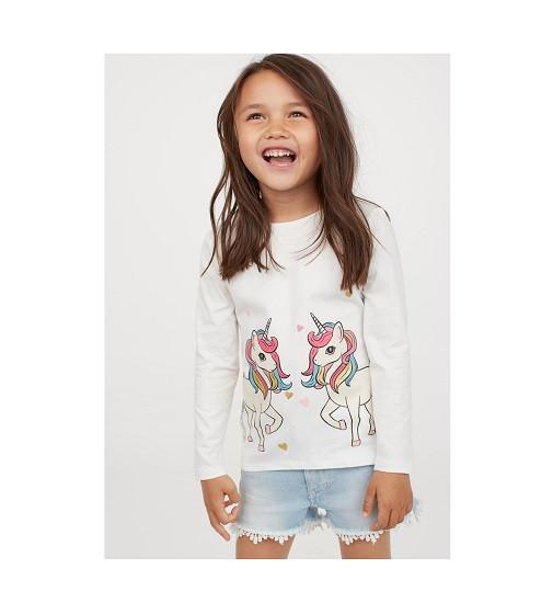 Купити Реглан Printed Cotton Shirt H&M (0870525002) - фото 1