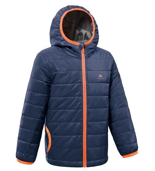 Купити Куртка Quechua MH500 Navy blue / Mandarine - фото 1