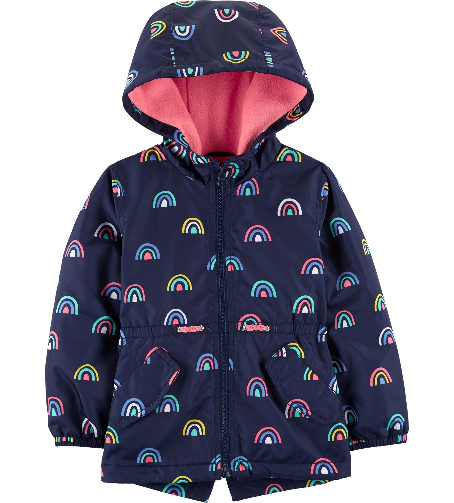 Купити Куртка на флісі Carters Rainbow Navy - фото 1