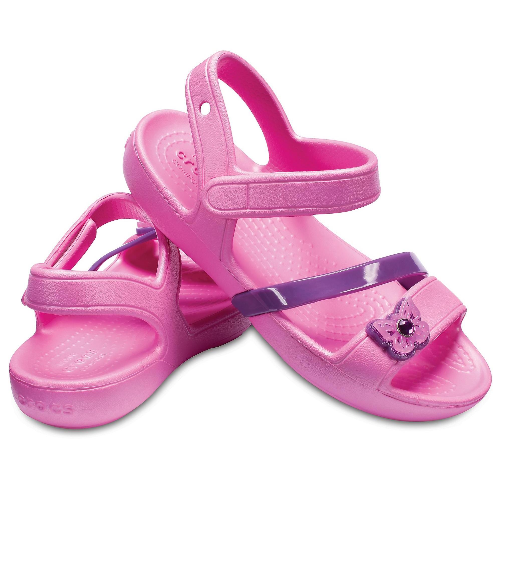 Купити Сандалі Crocs Lina Sandal party pink - фото 1
