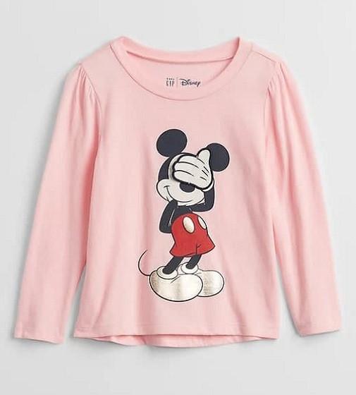 Купити Реглан Gap Disney Minnie Mouse light pink - фото 1