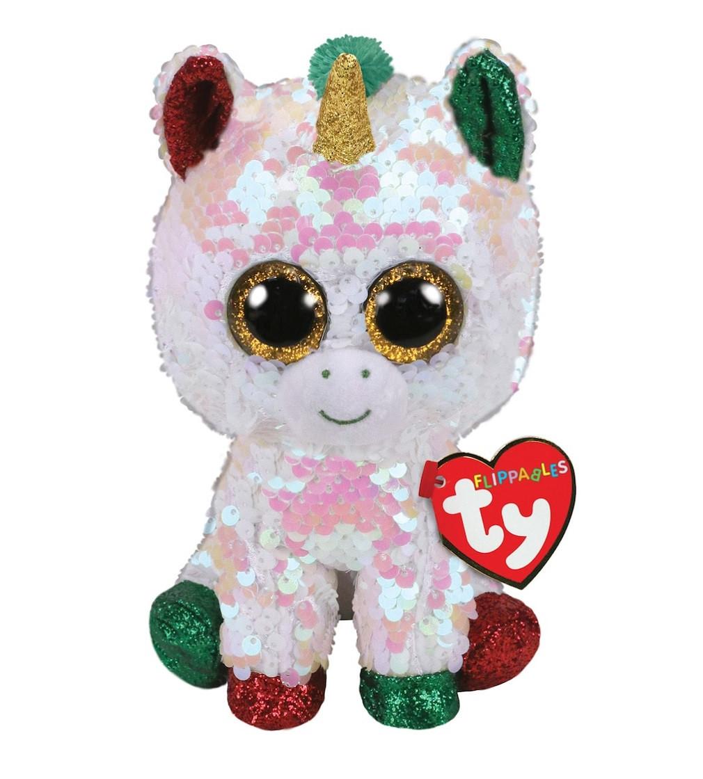 Купити М'яка іграшка TY Flippables Единорог Фантазия - фото 1