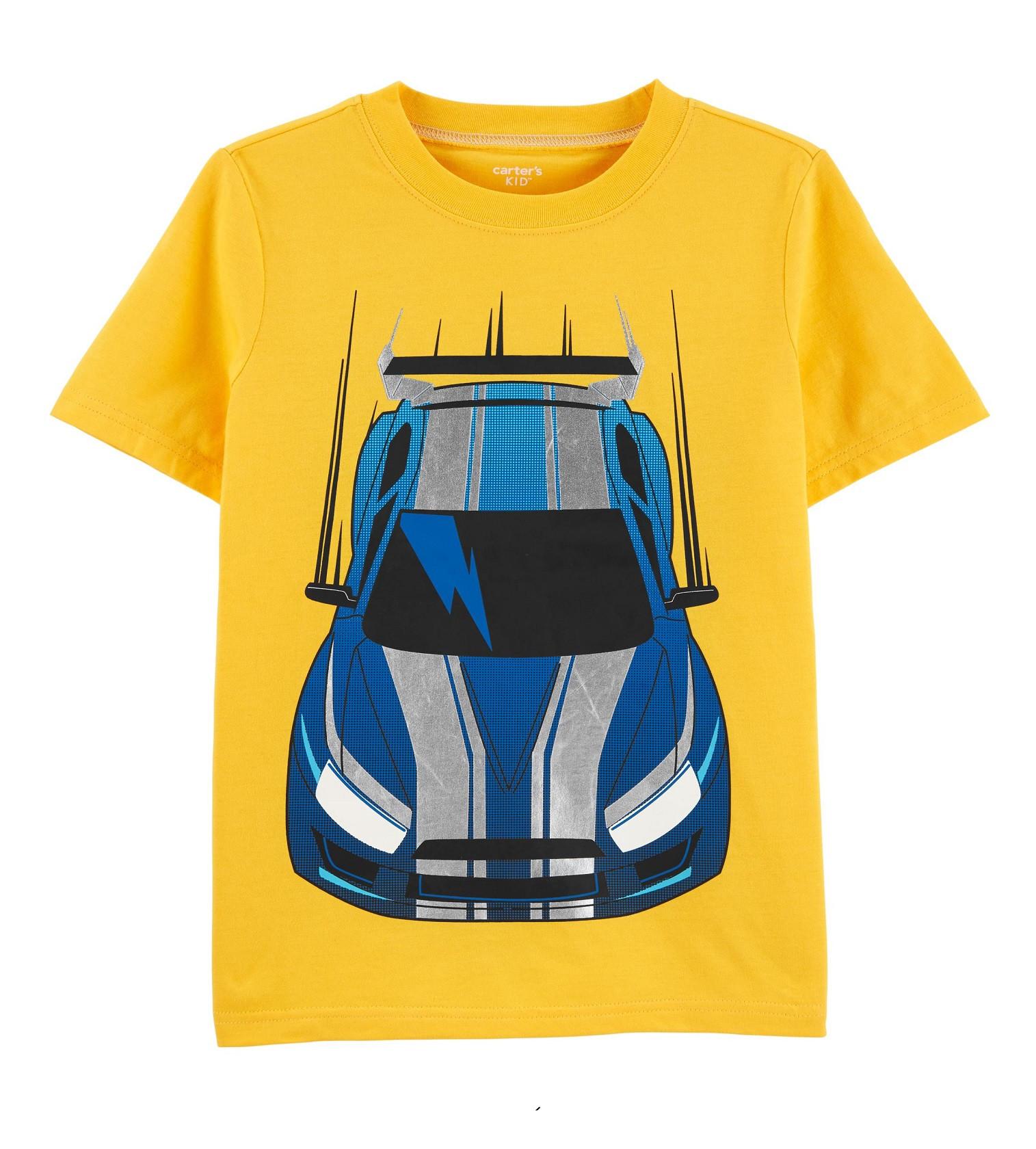 Купити Футболка Carters Race Car: Yellow - фото 1