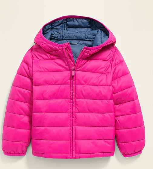 Купити Водонепроникна легка куртка-пуховик Old Navy (Flamingo Pink) - фото 1