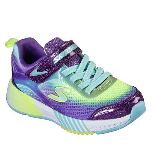 Купити Кросівки Skechers Turbo Grip Purple/Aqua/Yellow - фото 1