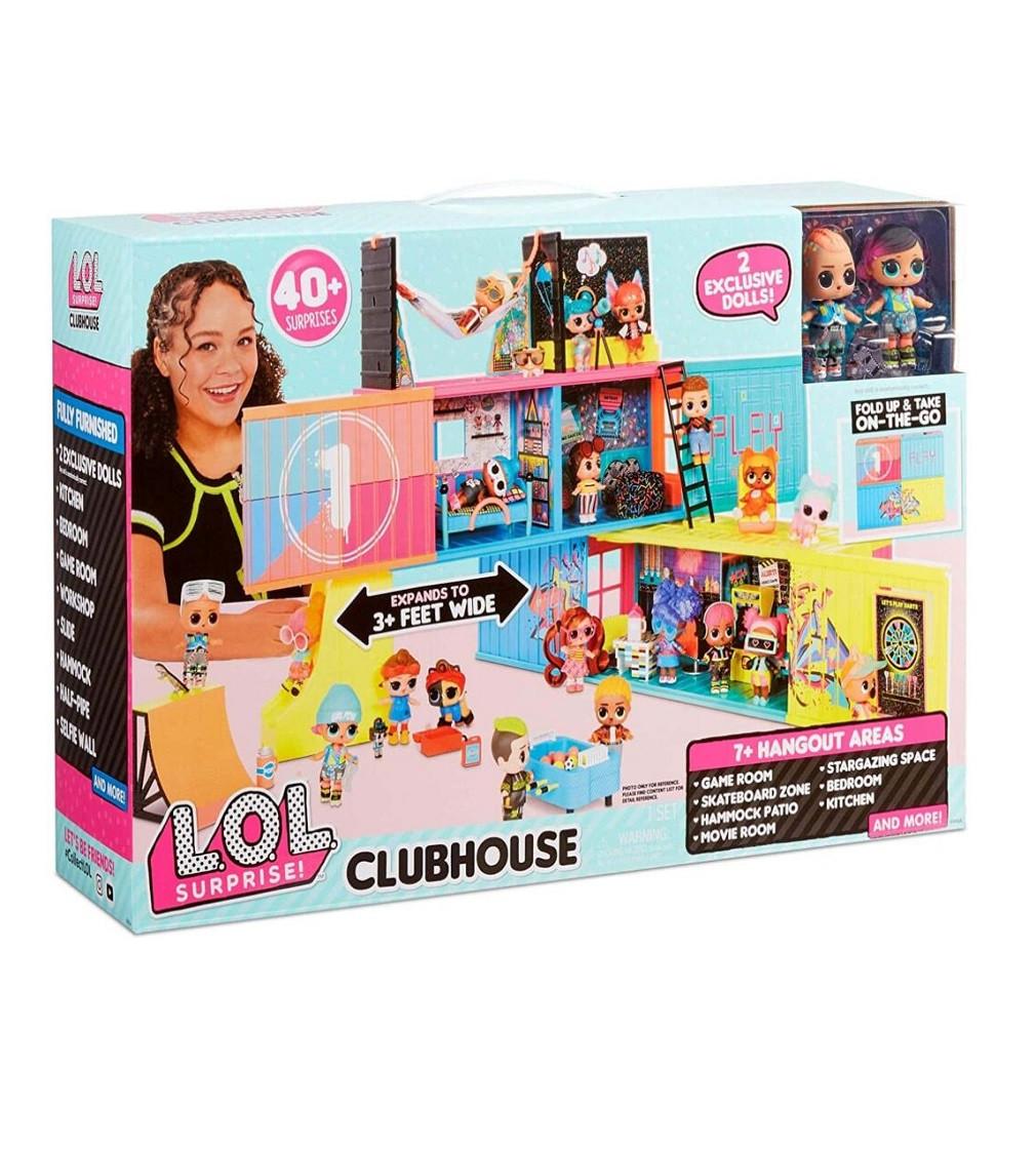 Купити LOL Surprise Clubhouse - новий будинок ЛОЛ Сюрприз з ексклюзивними ляльками - фото 1