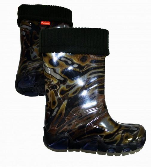 Купити Гумові чоботи Demar Mozaika zielona - фото 1
