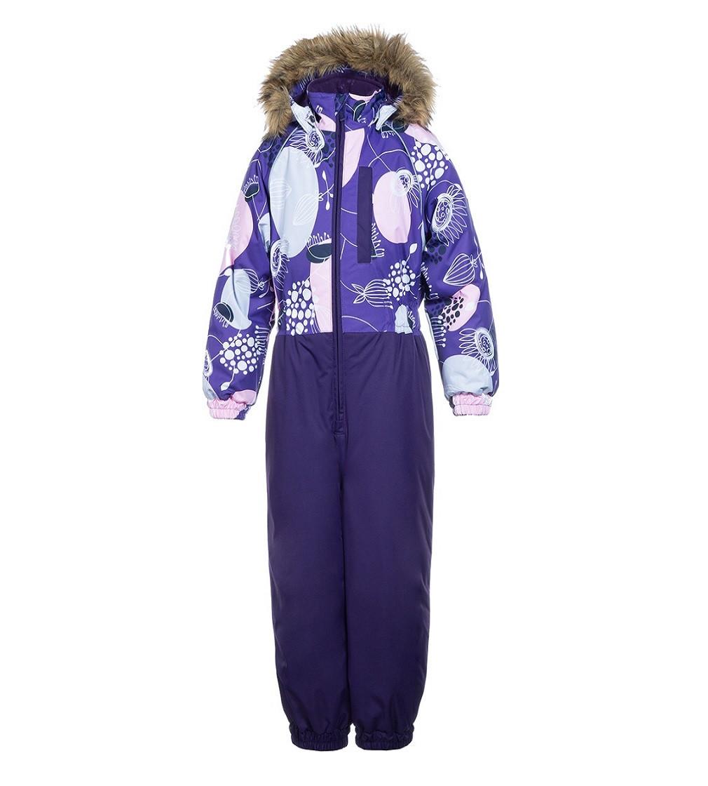 Купити Комбінезон Зимовий HUPPA Willy: dark purple print - фото 1