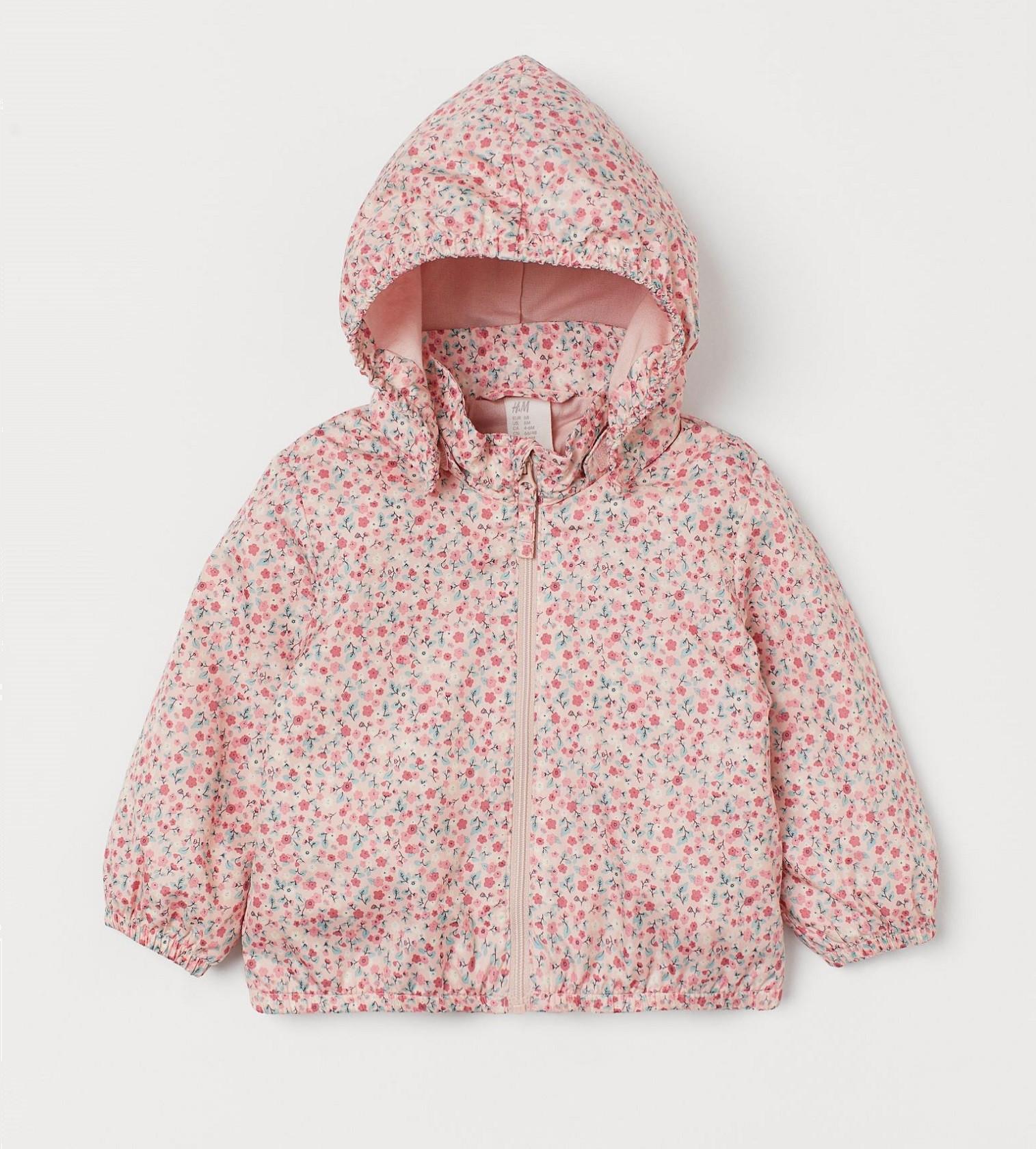 Купити Вітрівка H&M Light pink/Small flowers - фото 1