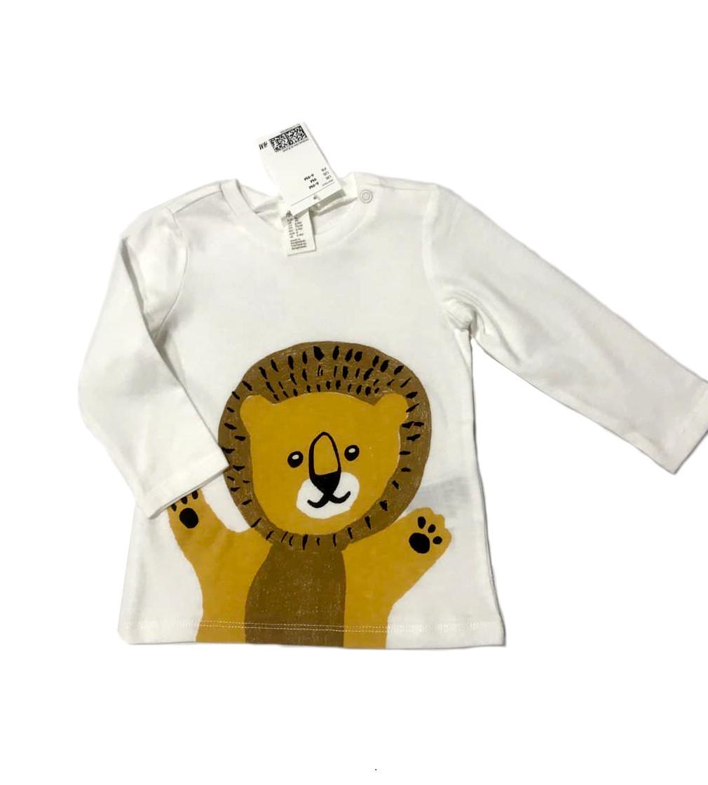 Купити Реглан H&M cotton tops: Lion - фото 1