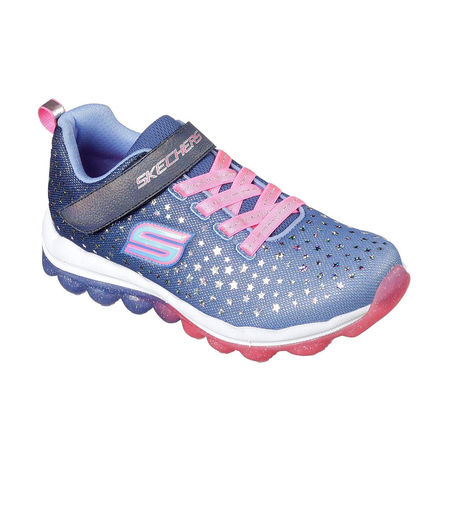 Купити Кросівки Skechers SKECH-AIR - STAR JUMPER BLUE/NEON PINK - фото 1