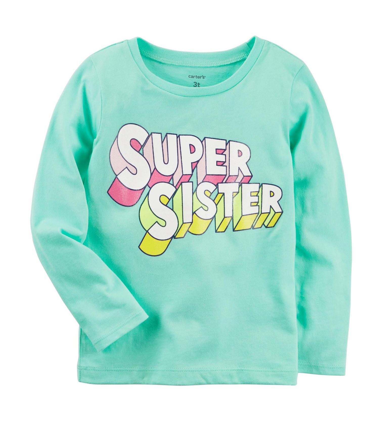 Купити Реглан Carters Super Sister Mint - фото 1