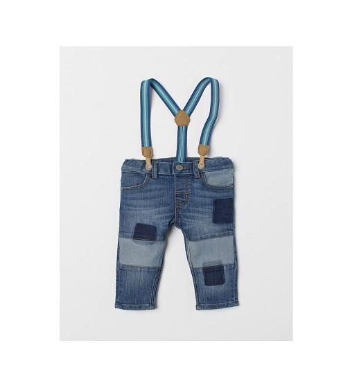 Купити Джинси з підтяжками Jeans with braces H&M 0687312001 - фото 1
