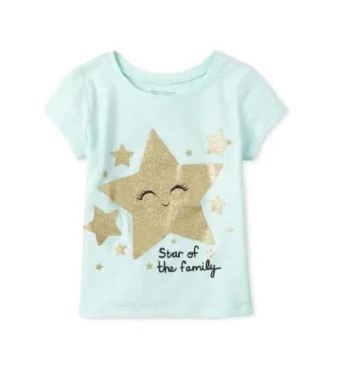 Купити Футболка Childrens place Star of the family - фото 1
