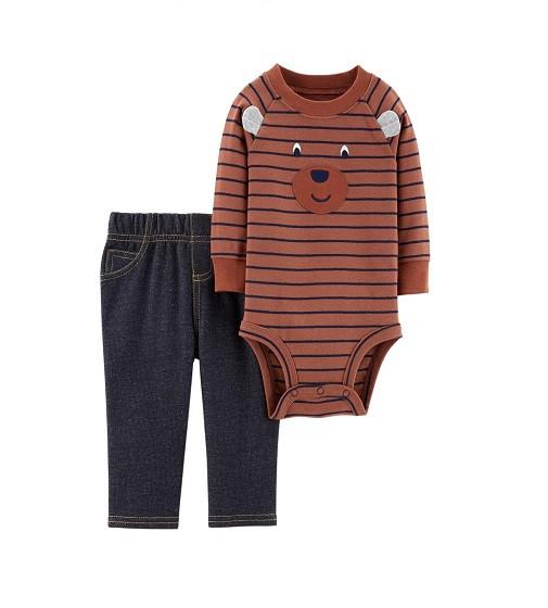 Купити Набір 2в1 Bodysuit Pant Set Carters (121i649) - фото 1