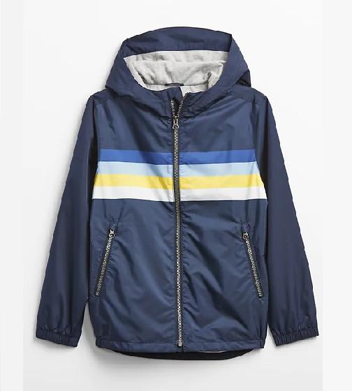 Купити Куртка GAP Windbuster на підкладці з джерсі - фото 1
