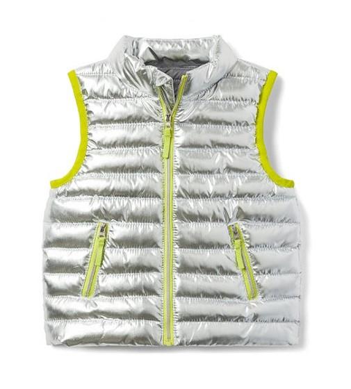 Купити Жилетка Gymboree Lime & Silver Metallic - фото 1